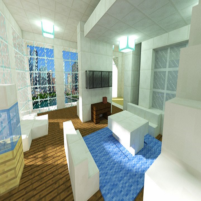 Penthouse build ideas for Minecraft 183 APK Mod