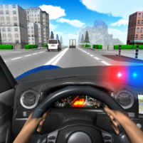 Police Driving In Car 5 APK Mod
