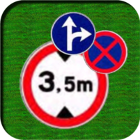 Traffic Signs: Road signs and meanings  APK Mod