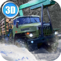 Winter Timber Truck Simulator  APK Mod1.40