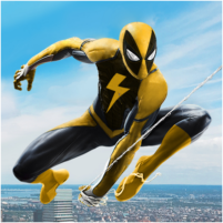 Flying Spider Rope Hero – Super Vice Town Crime 1.0.23 APK Mod