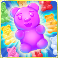 Gummy Bear Crush 🍬 new games 2020 1.20 APK Mod