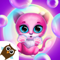 Kiki & Fifi Bubble Party – Fun with Virtual Pets  APK Mod 1.1.20