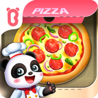 Little Panda's Space Kitchen – Kids Cooking  APK Mod 8.46.00.00