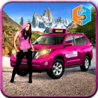 New York Taxi Duty Driver: Pink Taxi Games 2018 5.0 APK Mod