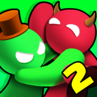 Noodleman.io 2 – Fun Fight Party Games  APK Mod 2.8