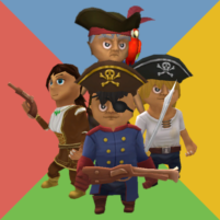 Pirates party: 2 3 4 players  2.20 APK Mod