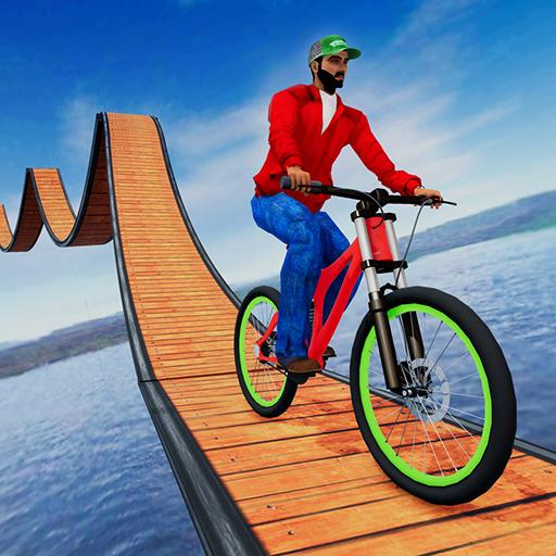 Stunt Bicycle Impossible Tracks: Free Cycle Games  APK Mod 14