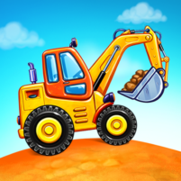 Truck games for kids – build a house, car wash 1.1.6 APK Mod