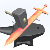 Blacksmith Shop Tycoon – Sword And Weapon Crafting  APK Mod 1.1.3