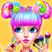 🍬👧Candy Girl Makeup – Dress up Game  APK Mod 2.2.5026