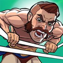 The Muscle Hustle: Slingshot Wrestling Game  APK Mod 1.26.530