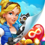 Park Town: Match 3 Game with a story!  APK Mod 1.34.3615