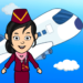 My Airport Town: Kids City Airplane Games for Free  APK Mod 1.61