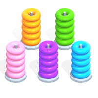 Color Hoop Stack Sort Puzzle  1.1.4 APK Mod