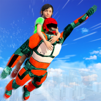 US Light Robot  Speed Hero :City Rescue Mission  APK Mod 1.0.21