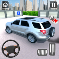 In Car Parking Games – Prado New Driving Game  APK Mod 1.4