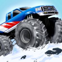 Monster Stunts — monster truck stunt racing game  APK Mod 5.12.63