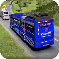 Coach Bus Racing Simulator 2020 : Top Bus Games 1.0 APK Mod