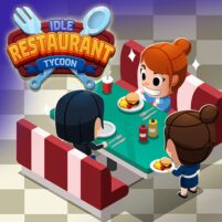 Idle Restaurant Tycoon – Build a cooking empire 1.2.1 APK Mod