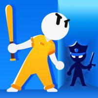 Prison Escape 3D Stickman Prison Break  0.1.5 APK Mod