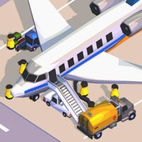 Airport Inc. Idle Tycoon Game  1.4.2 APK Mod