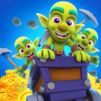 Gold and Goblins: Idle Merger & Mining Simulator  1.4.2 APK Mod