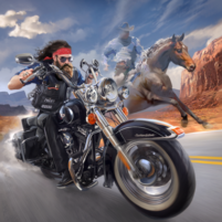 Outlaw Riders War of Bikers   APK Mod 0.3.0