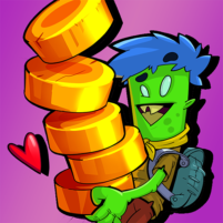 Coin Scout Idle Clicker Game  1.09 APK Mod