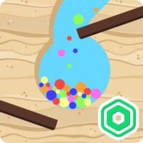Dig the Sand – Free Robux – Roblominer 1.3 APK Mod