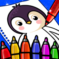 Happy Coloring Book Learn Paint : Coloring Games 0.13 APK Mod
