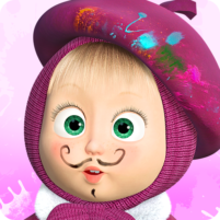 Masha and the Bear: Free Coloring Pages for Kids 1.7.6 APK Mod