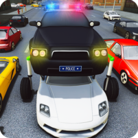 Elevated Car Racing Speed Driving Parking Game  APK Mod