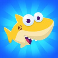 Merge Shark: Cute Fun Evolution Tap Doo  APK Mod