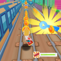 subway runner surf- Train Endless racing 1.1.1 APK Mod