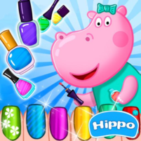 Hippo's Nail Salon: Manicure for girls  APK Mod