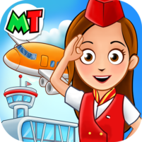 My Town : Airport. Free Airplane Games for kids  APK Mod