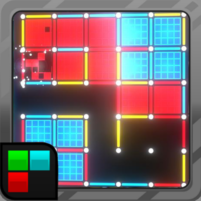 Dots and Boxes (Neon) 80s Style Cyber Game Squares  APK Mod