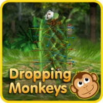 Dropping Monkeys 3D Board Game – Play Together.  APK Mod