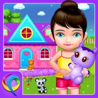 My Baby Doll House – Tea Party & Cleaning Game  APK Mod