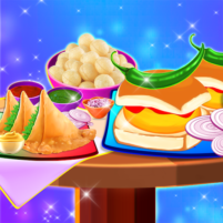 Yummy! Famous Indian Street Food Cooking Game  APK Mod