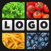 4 Pics 1 Logo Game – Free Guess The Word Games  APK Mod