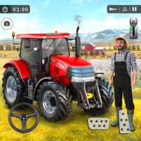 Farming Game 2021 – Free Tractor Driving Games  APK Mod