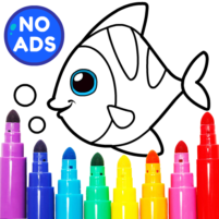 Learning & Coloring Game for Kids & Preschoolers  29.0 APK Mod