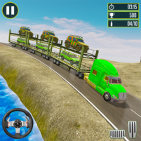 Off-Road Army Vehicle Transporter Truck  APK Mod