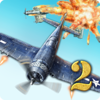 AirAttack 2 – WW2 Airplanes Shooter  APK Mod