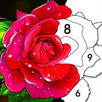 Color by Number Oil Painting Coloring Book  1.801 APK Mod