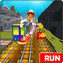 Subway Obstacle Course Runner Runaway Escape  1.2.1 APK Mod